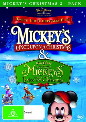 Mickey Twice Upon A Christmas Dvd Mickey S Twice Upon A Christmas Trailer