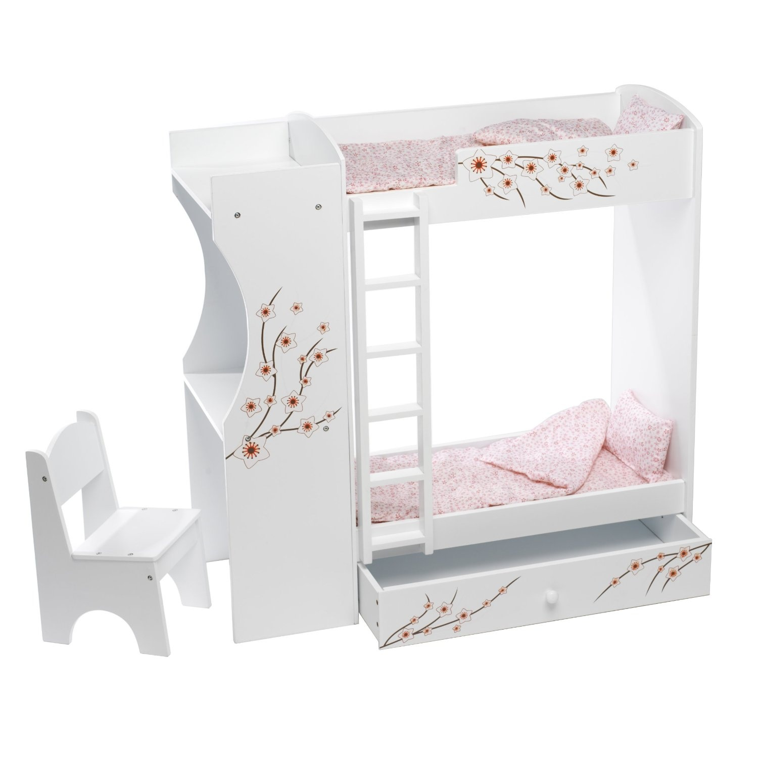 Fits American Girl Doll Bunk Bed Desk Combo 46cm Inch Dolls