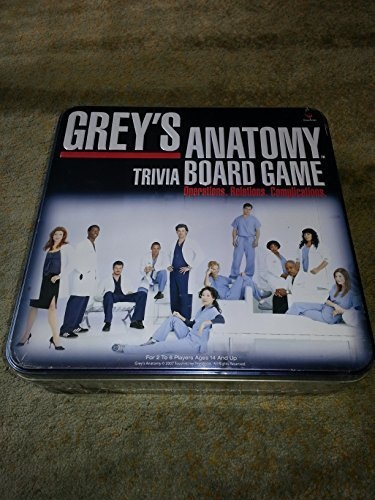 Cardinal Industries Grey S Anatomy Game By Cardinal Industries Shop Online For Toys In Australia
