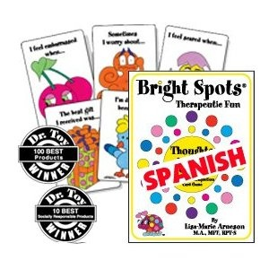 A Sentence Completion Card Game Bright Spots Thoughts and Feelings Spanish Language Version