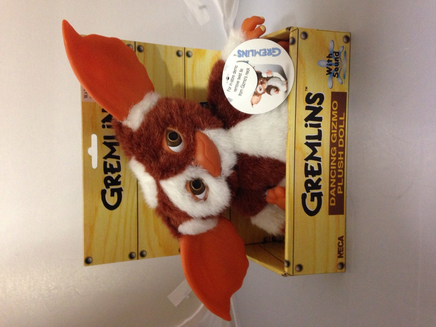 Gremlins Electronic Dancing Plush Doll Gizmo Measures 8n Tall Neca
