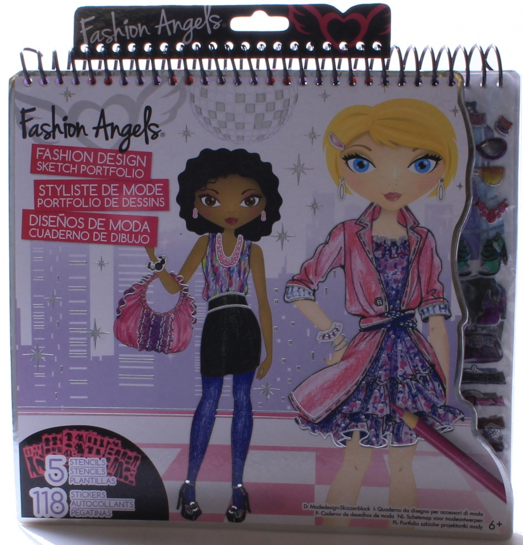 Fashion Angels Fashion Design Sketch Portfolio By Fashion Angels Shop Online For Toys In Australia