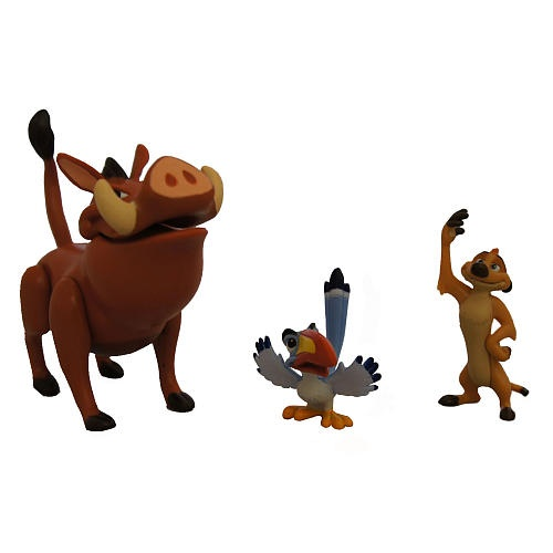 The Lion King Figures Pumba Timon And Zazu