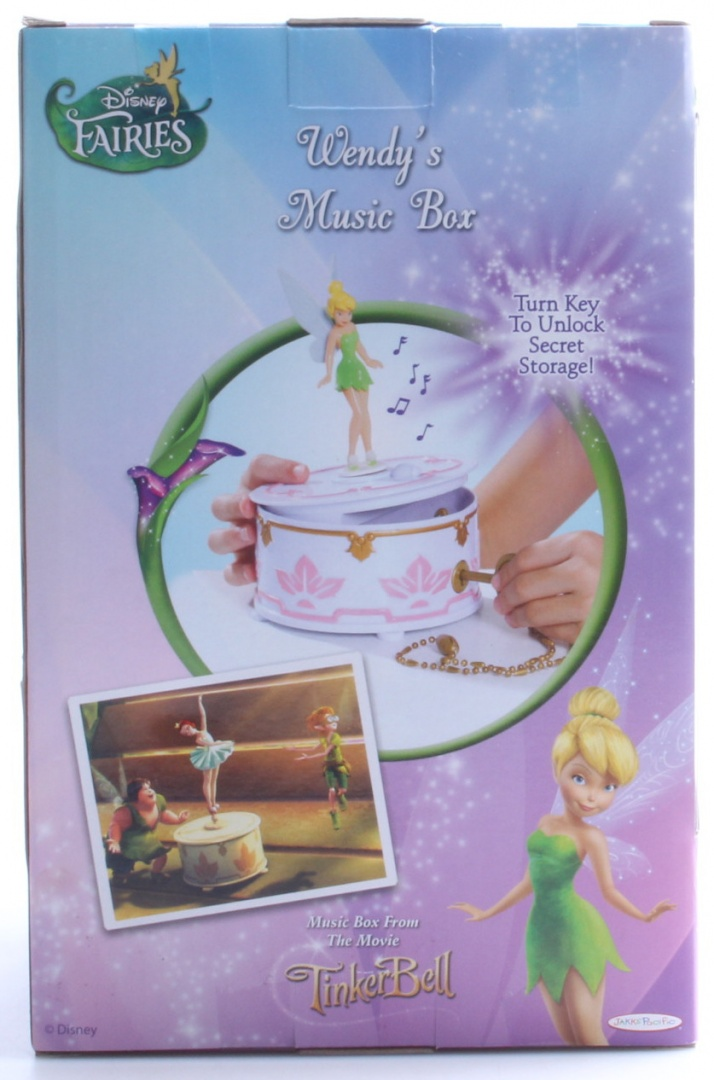 Disney Fairies Wendy S Musical Jewellery Box By Usa Toys Shop Online For Toys In Australia