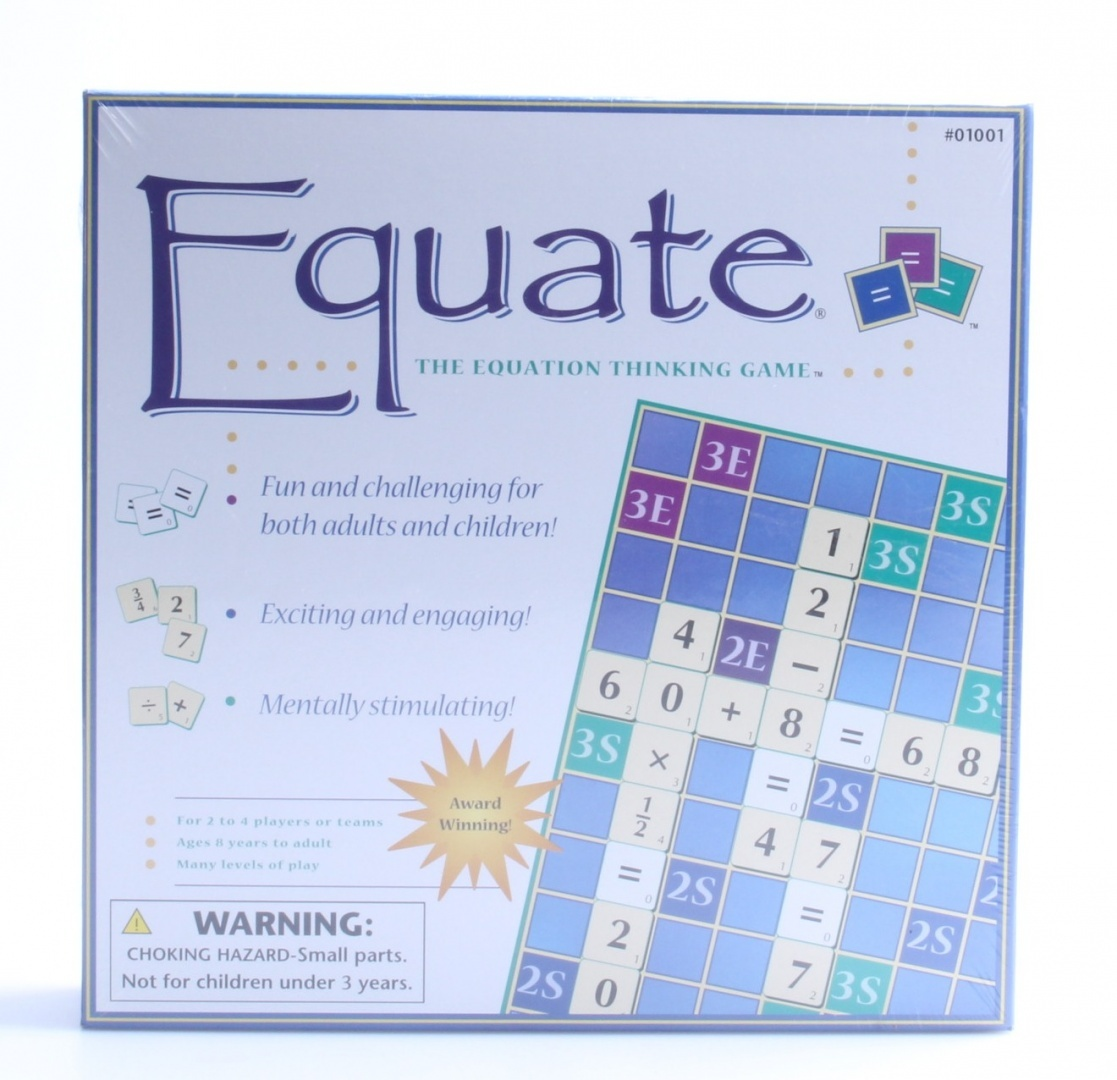 Equate For Ages 8 And Upwards. A Fun Educational Numeracy Game