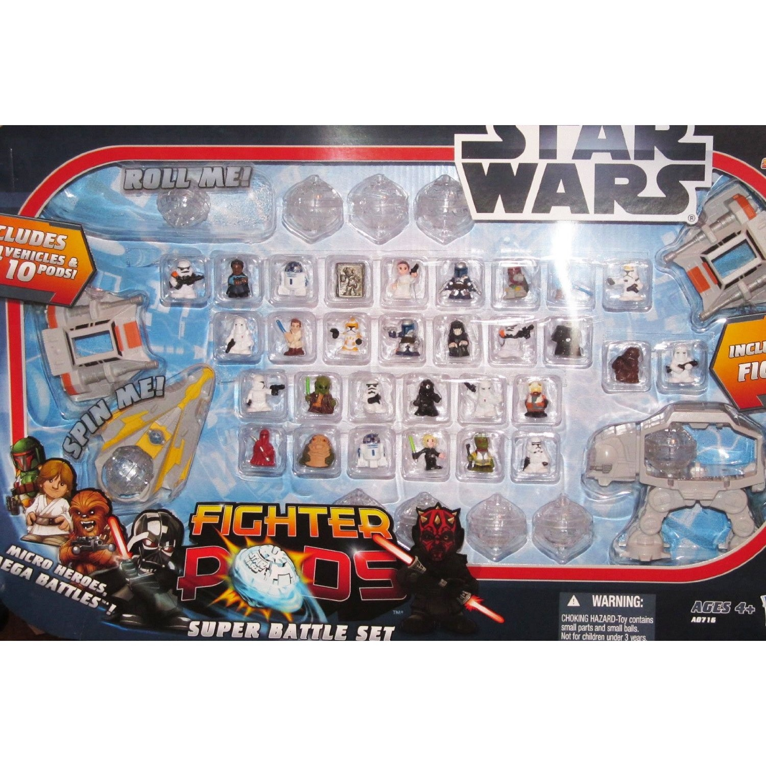 Star Wars Fighter Pod figures