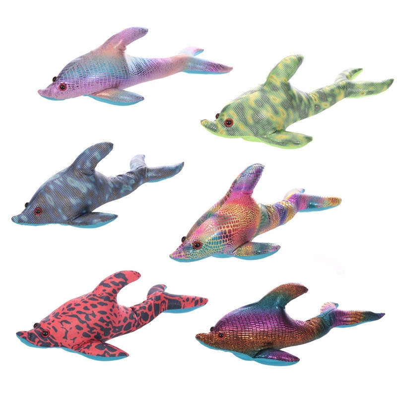 Sand Filled Stuffed Animals, Sand Animal Dolphin Large By Puckator Shop Online For Toys In Australia