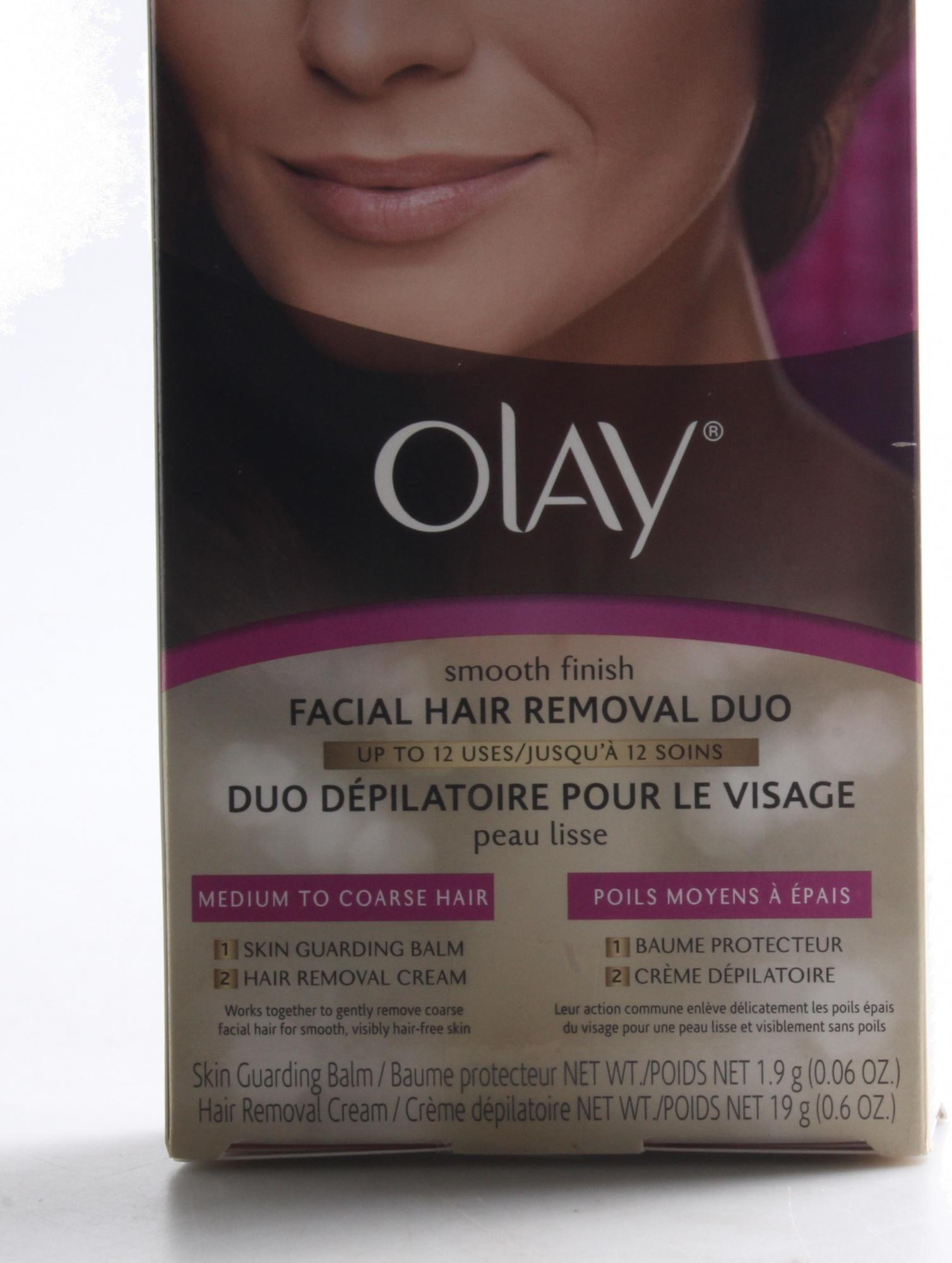 Olay Smooth Finish Facial Hair Removal Duo Skin Guarding Balm