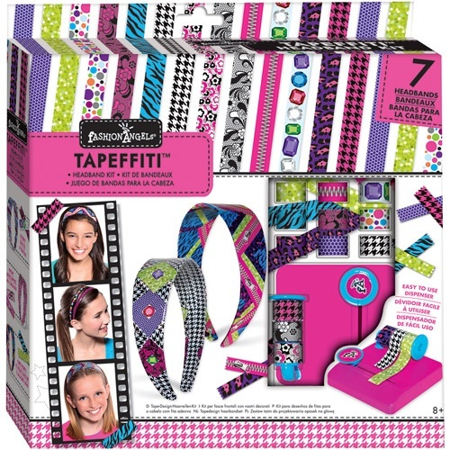 Fashion Angels Tapeffiti Headband Kit By Fashion Angels Shop Online For Toys In Australia