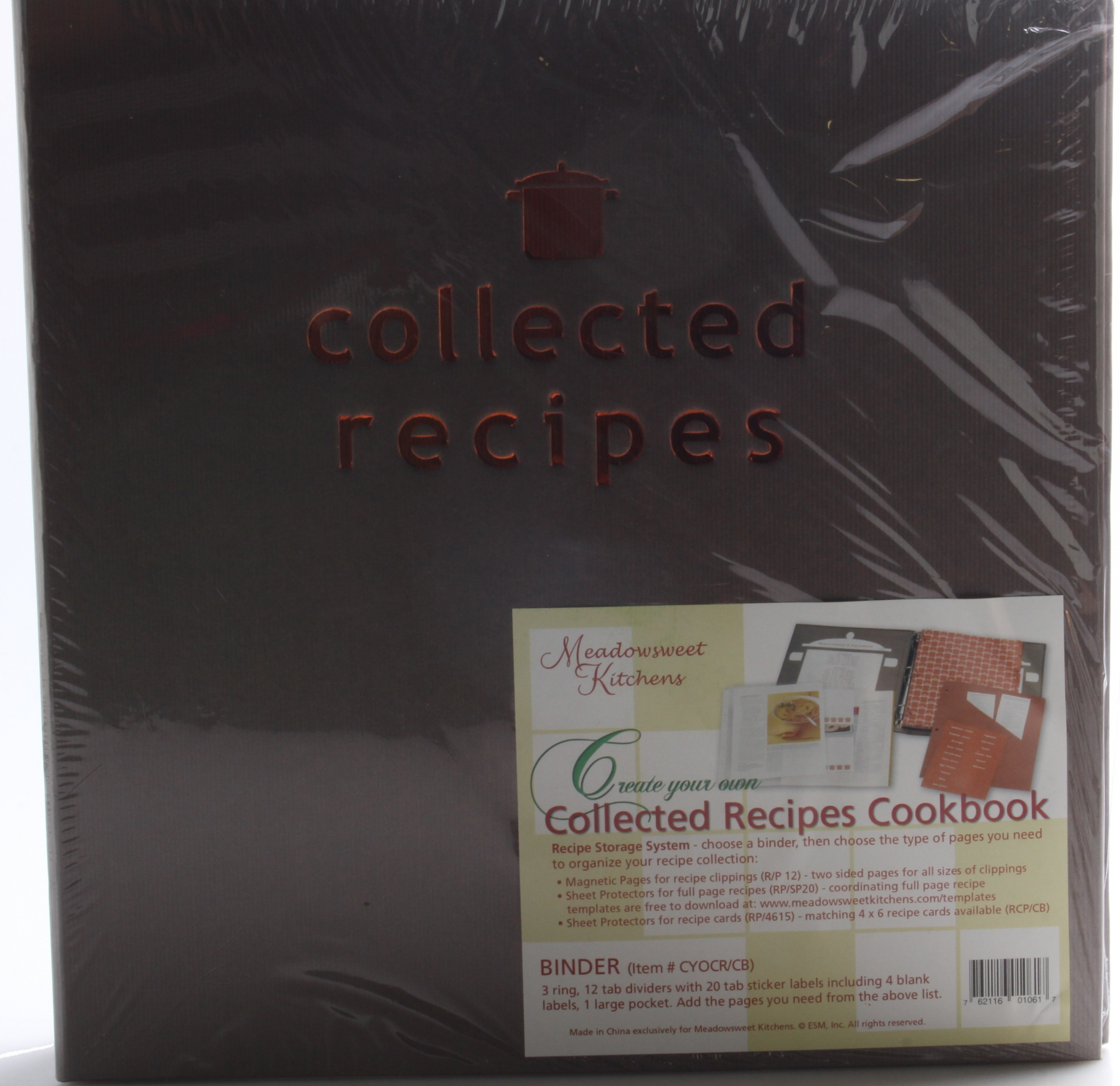Recipe Tab Dividers with Pockets for 3-Ring Binders New Meadowsweet Kitchens