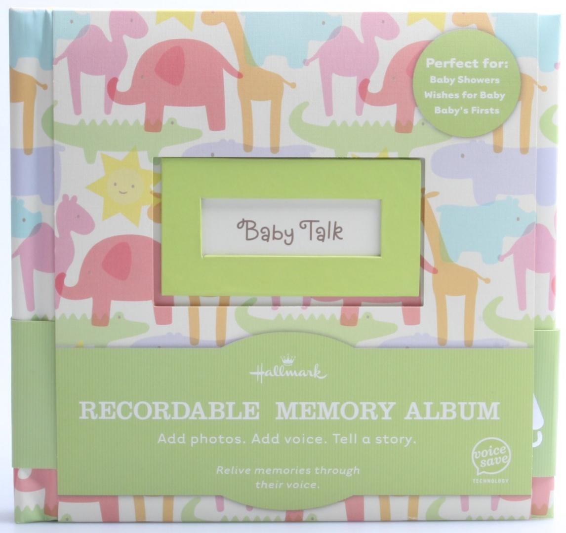 Hallmark Baby Talk Recordable Photo Album Book