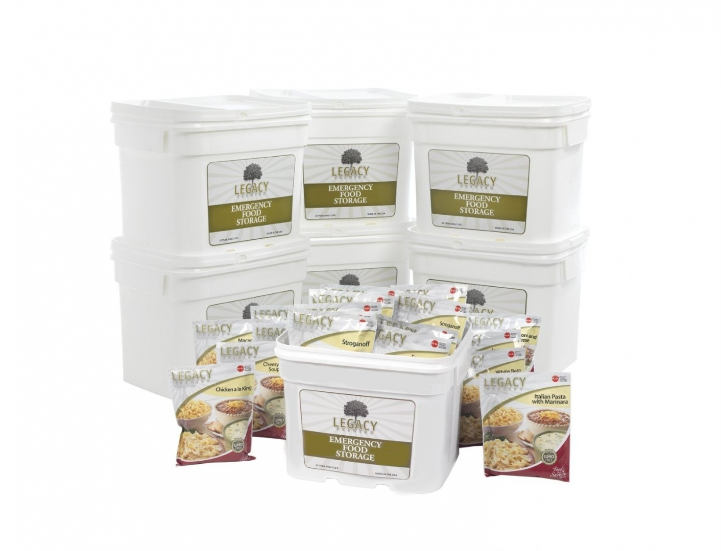Bulk Dehydrated Survival Food Storage 720 Servings Emergency Freeze Dried Prepper Supply 25 Year Shelf Life Survival Meals By Legacy Premium Food Storage Shop Online For Sports Outdoors In Australia