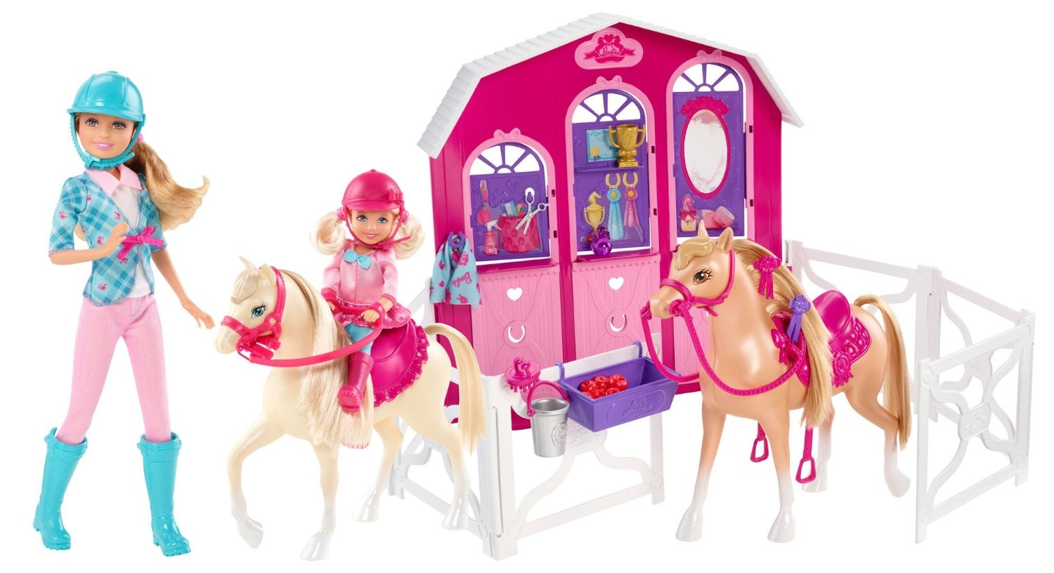 Barbie Stable Playset And Stacie Horse By Barbie Shop Online For Toys In Australia