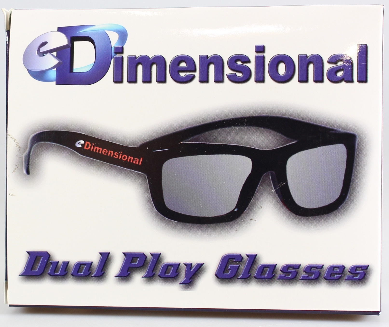 eDimensional ADULT 4 Pack DUAL PLAY LG AG-F310DP AG-F400DP Compatible 3D Glasses