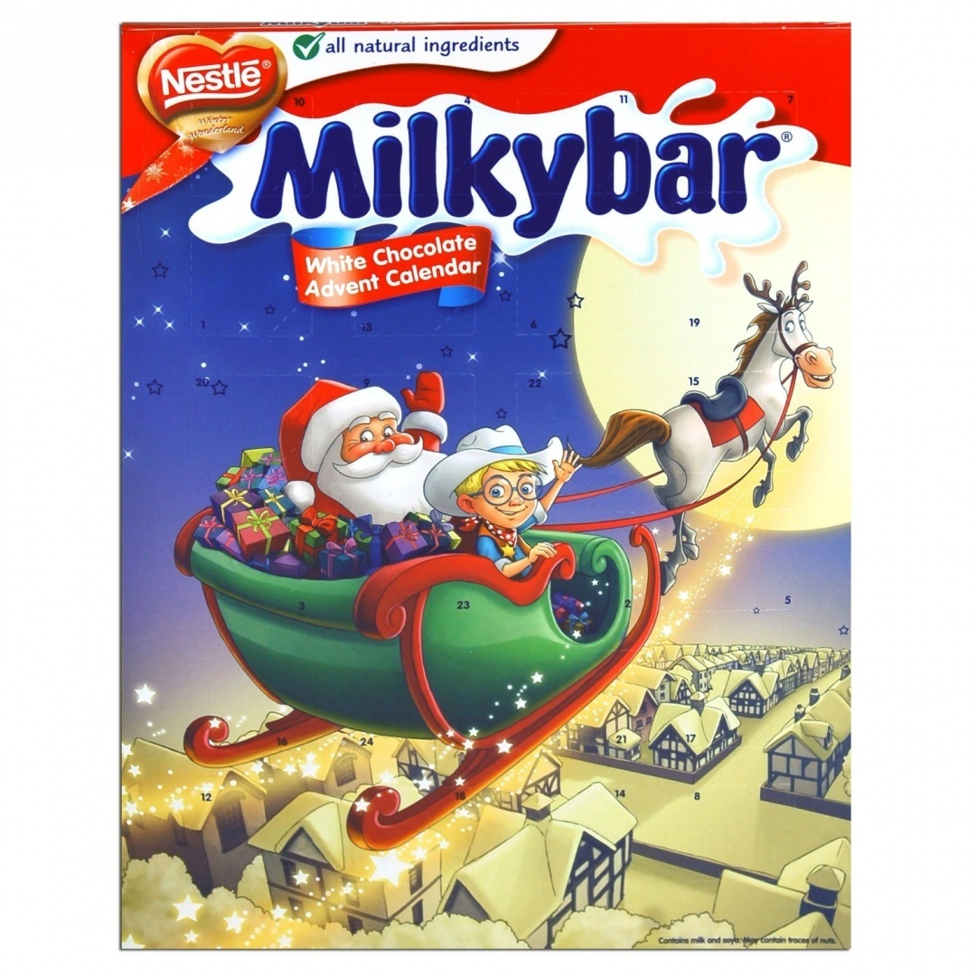 Milkybar White Chocolate Advent Calendar 85g