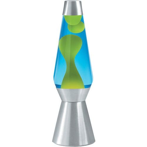 Lava Lite 70cm Lava Grande Lava Lamp Yellow Wax Blue Liquid Silver Base By Lava Shop Online For Homeware In Australia