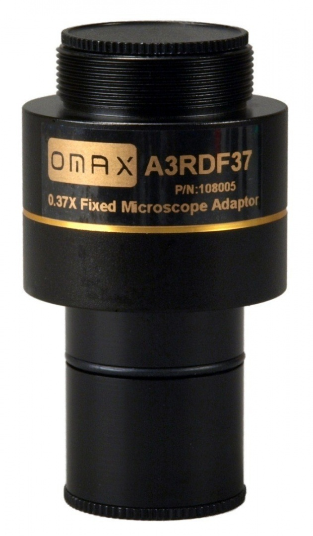 OMAX 4X Lens Microscope Adapter Canon G10,G11,G12+23.2-30.5mm Adapter