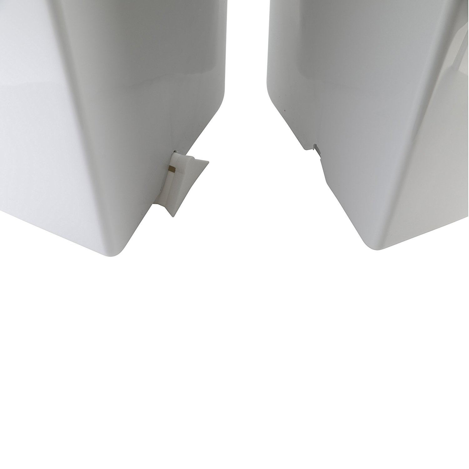 2 x 23 L Twin Double Compartment Bin for Waste Separation Fingerprint Proof Plastic Trash Can axentia Double Recycling Waste Bin approx Office Indoor//Outdoor Use Garden  Rubbish Disposal Dual Dustbin Grey 33 x 43 x 51 cm