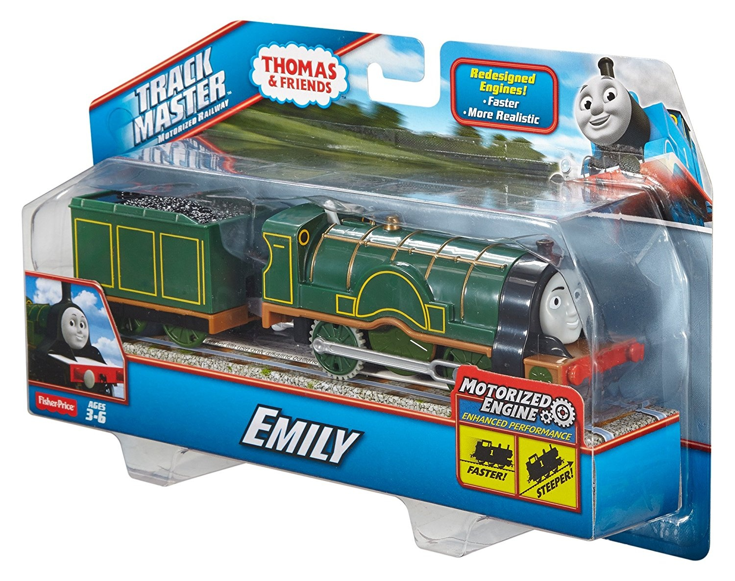 Thomas Friends Cdb69 Trackmaster Motorised Emily By Fisher Price Shop Online For Toys In Australia