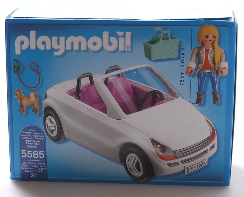car Playmobil replacement part 5585