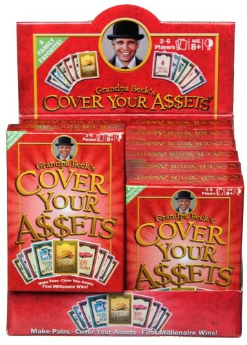 Grandpa Beck S Cover Your Assets Card Game By Grandpa Beck S Shop Online For Toys In Australia
