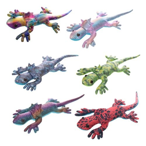 Sand Filled Stuffed Animals, Sand Filled Collar Lizard Large 5pack By Puckator Shop Online For Toys In Australia