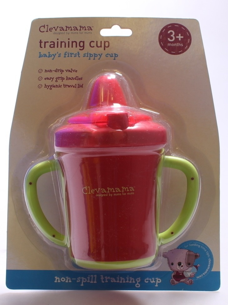 Clevamama Training Cup Baby/'s First Sippy Cup