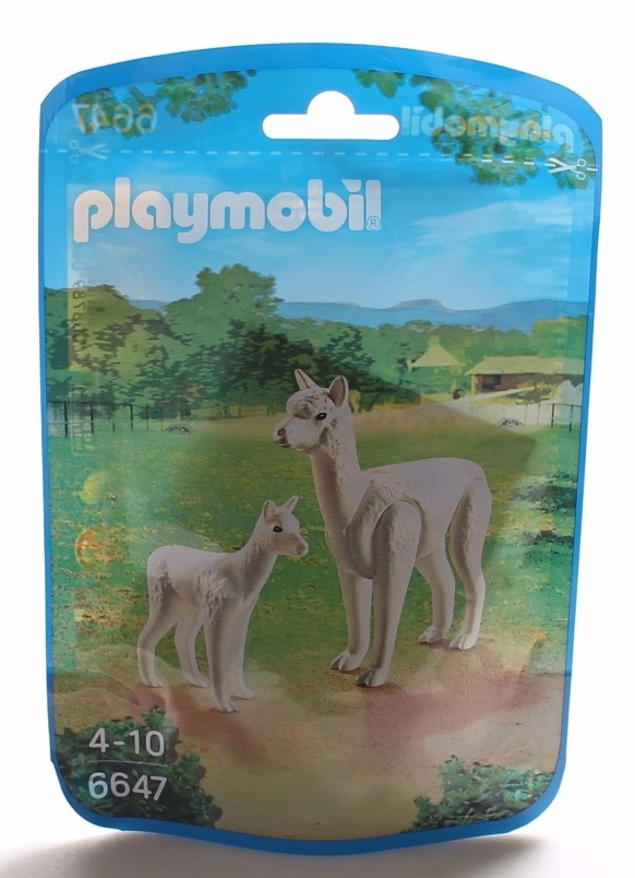 Playmobil 6647 City Life Zoo Alpaca with Baby Multi-color