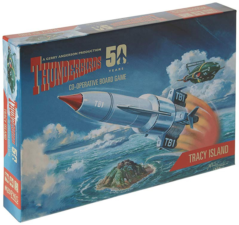 Tracy Island Modiphius MUH50087TB Thunderbirds Board Game Expansion