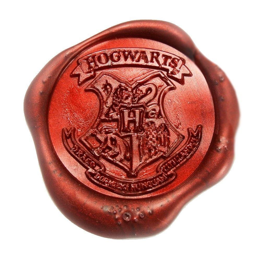 UNIQOOO Arts /& Crafts Hogwarts School Ministry of Magic Wax Seal Stamp Kit Gift Idea