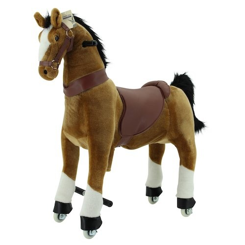 Sweety Toys 7363 BIG HORSE 4 to 9 years RIDING ANIMAL