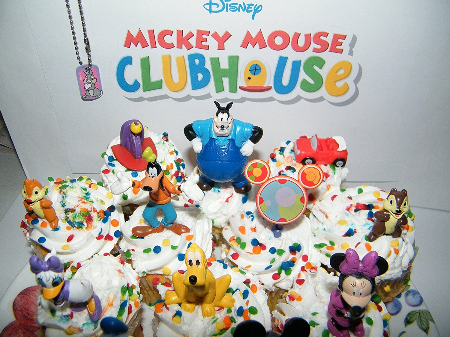 Mickey Mouse Clubhouse Deluxe Birthday Cake Topper Set   ***BRAND NEW***