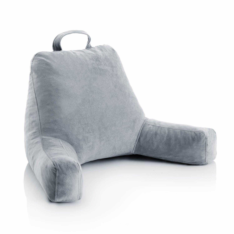 Ziraki Plush Shredded Foam Reading Relax Pillow For Bed Rest Arm