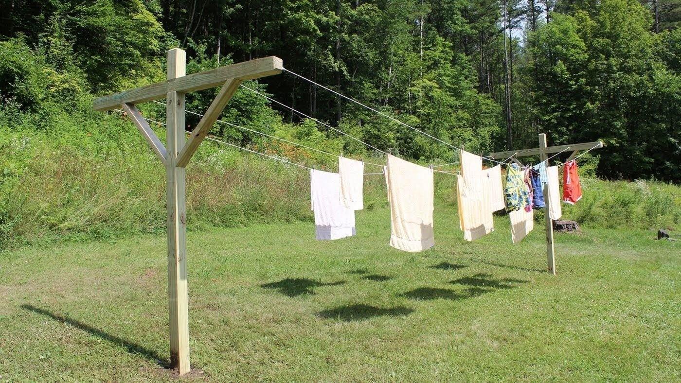 1 Metal Telescopic Heavy Duty Clothes Washing Line Prop Adjustable Pole Extending 2.4 Meter