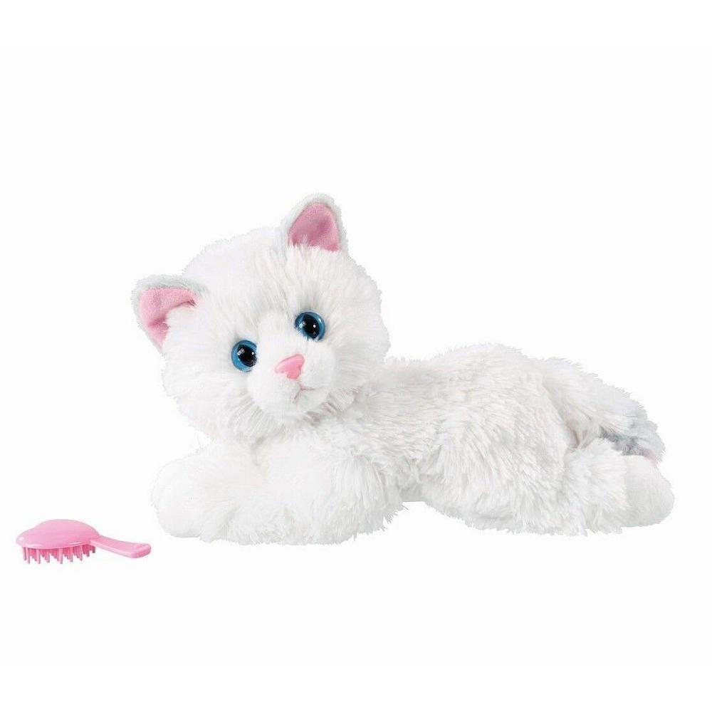 Animagic Kitty Lily Plush White Snuggle Pet Kitten Electronic Cat By Vivid Imagination Shop Online For Electronics In Australia