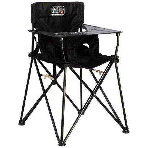 Brilliant Ciao Baby Portable High Chair For Travel Fold Up High Chair With Tray Black Andrewgaddart Wooden Chair Designs For Living Room Andrewgaddartcom