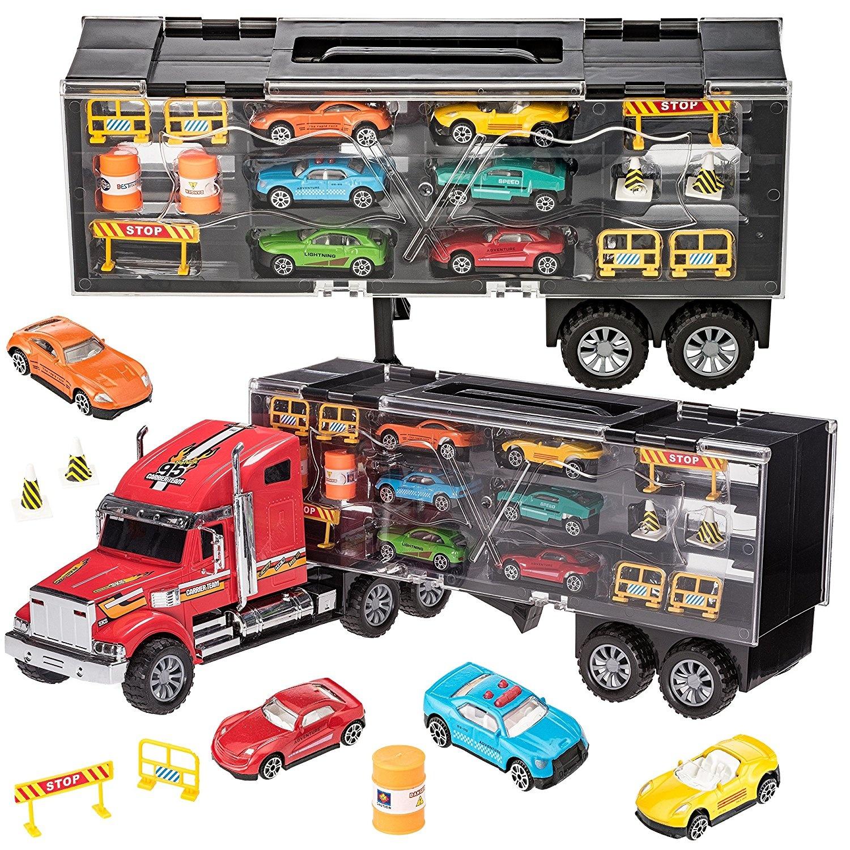 The Toy Company 15362 1:72 Metal World Lizenz-Autotransporter