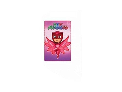 PJ Masks Kids Girls Owlette Soft Fleece Blanket Team Logo ...