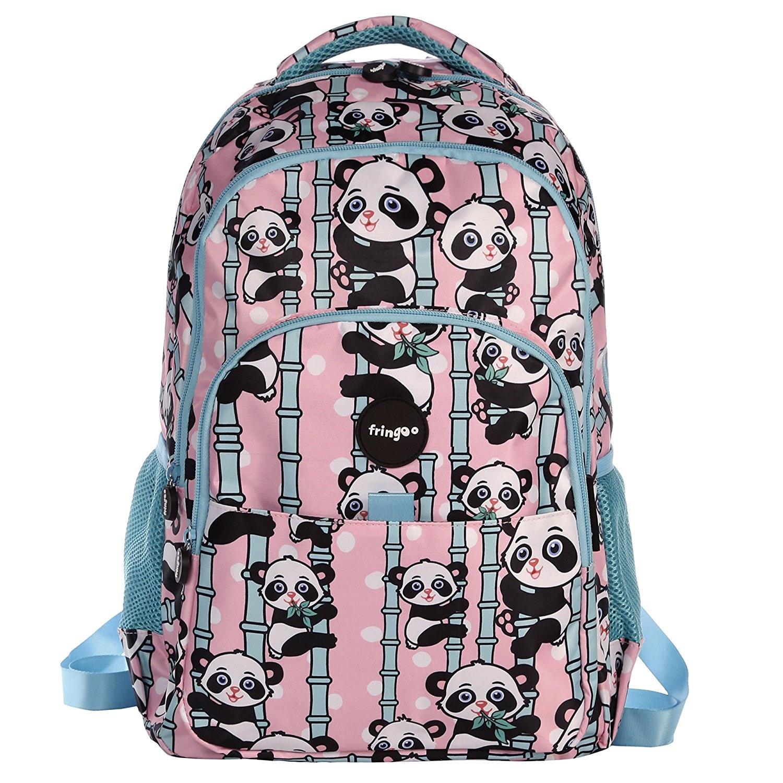 FRINGOO® Girls Boys Multi-compartment School Backpack Waterproof Fits Laptop