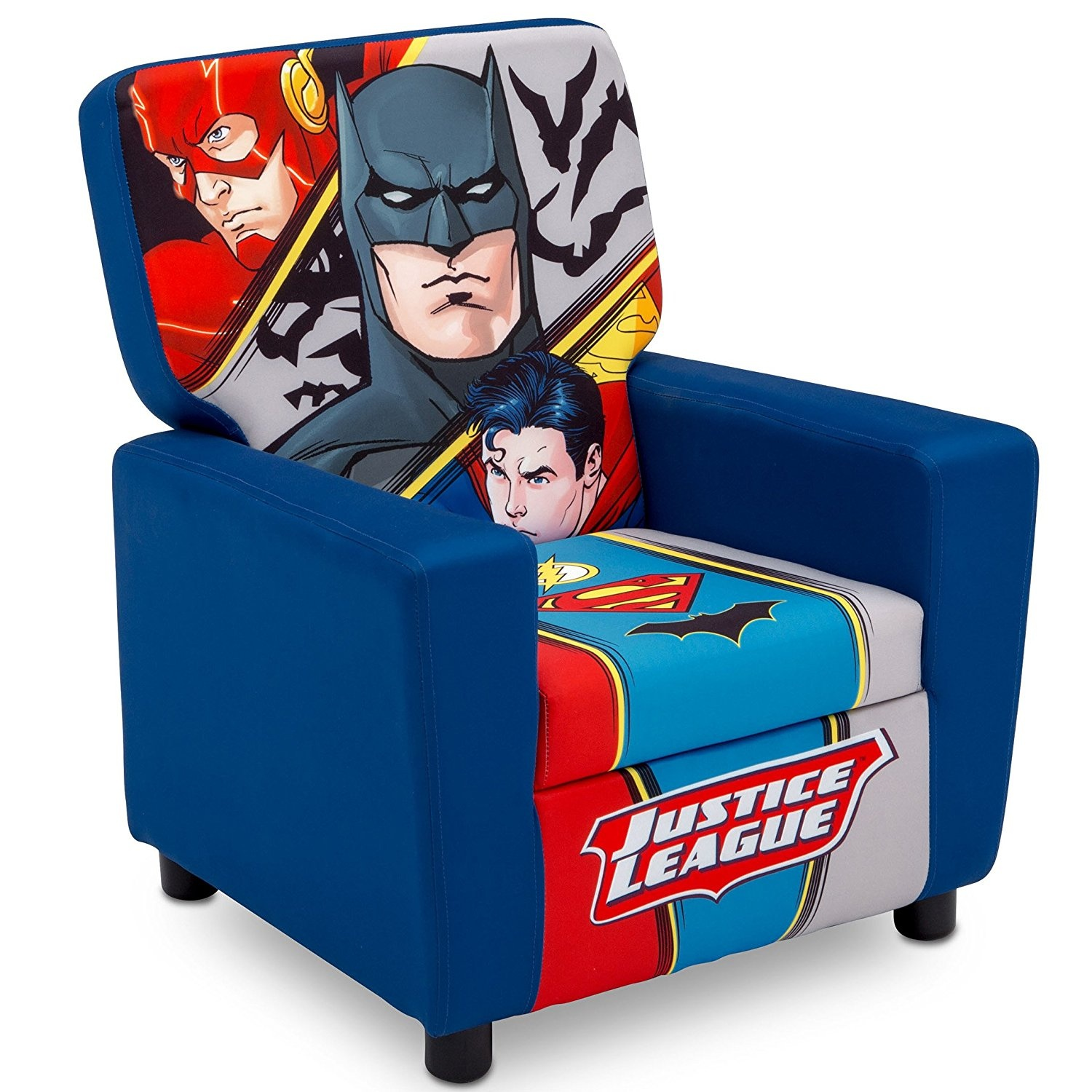 Super Delta Children High Back Upholstered Chair Dc Comics Batman Machost Co Dining Chair Design Ideas Machostcouk