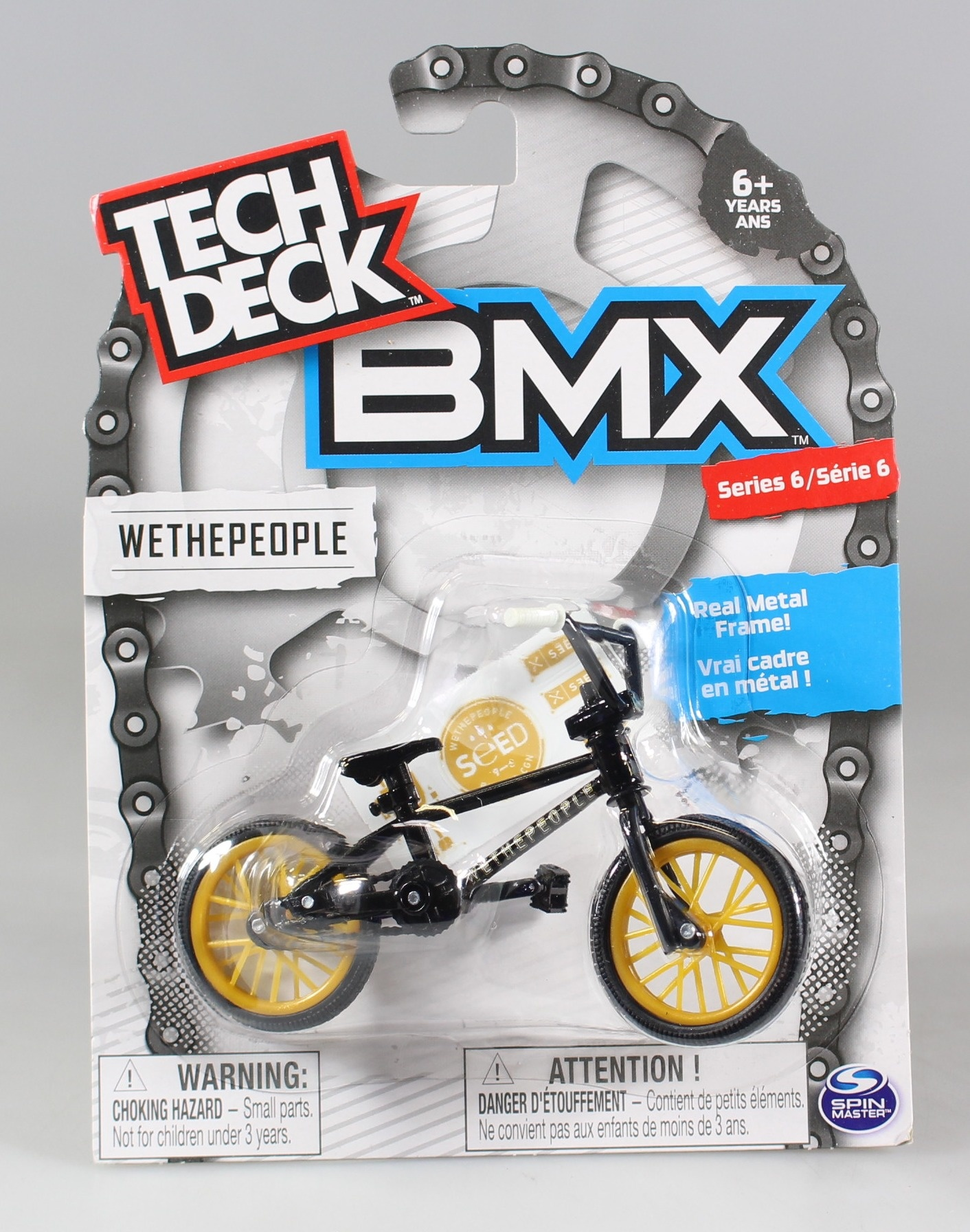 Tech Deck Bmx Finger Bike Wethepeople Black Gold Series 6 By Tech Deck Shop Online For Toys In Australia