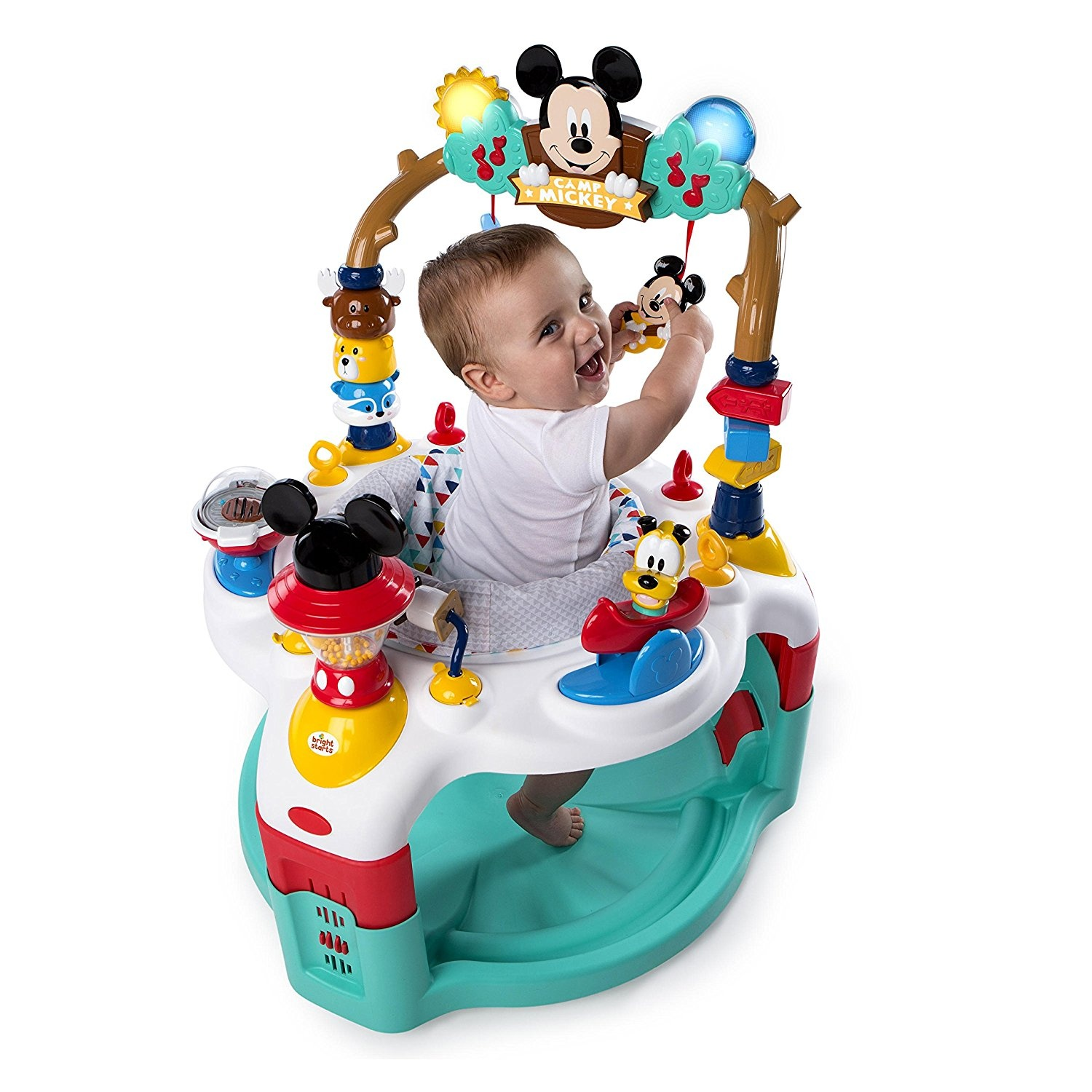 Disney Baby Mickey Mouse Camping With Friends Activity Saucer