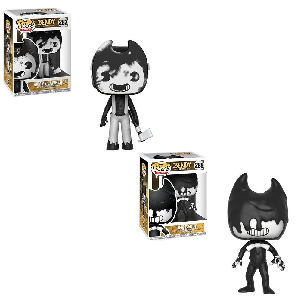 Funko Sammy Brand New In Box Benday And The Ink Machine POP Games