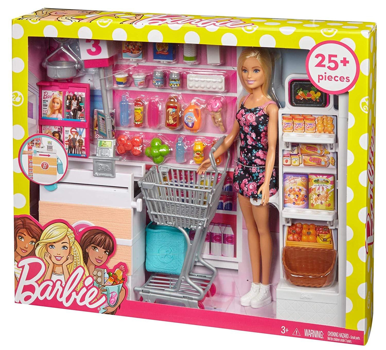 Barbie FRP01 Set supermercato multi-colore