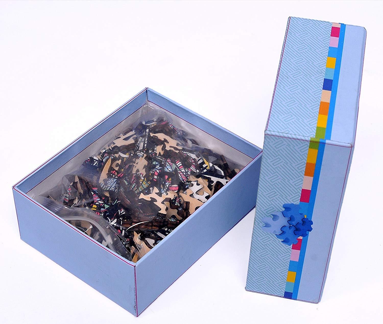 Decorative Elephant HM-06 Small Size Puzzle 171 hartmaze Wooden Jigsaw Puzzles