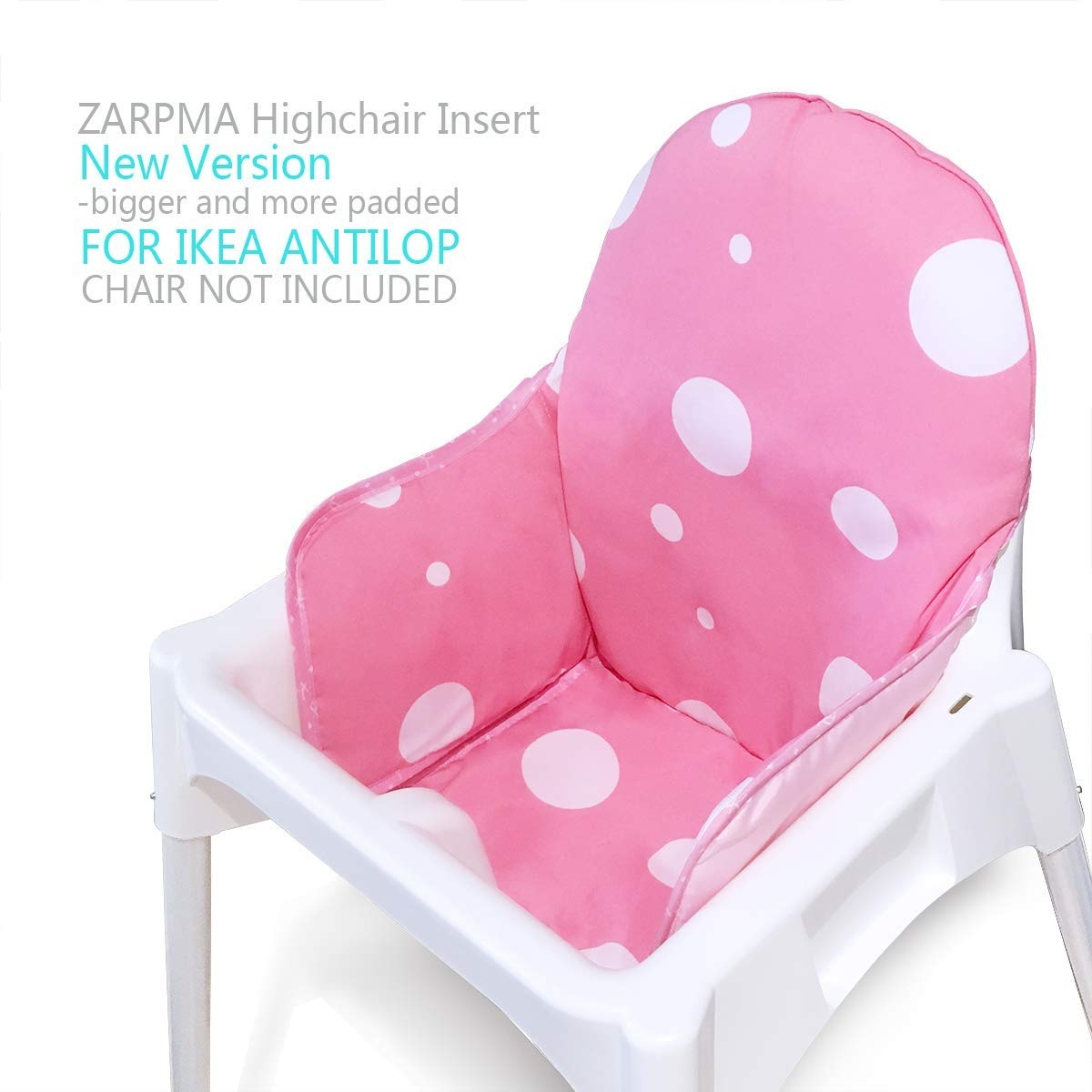 Highchair Seat Covers Insert Mat Cushion Washable Fold Able Baby Ikea Antilop