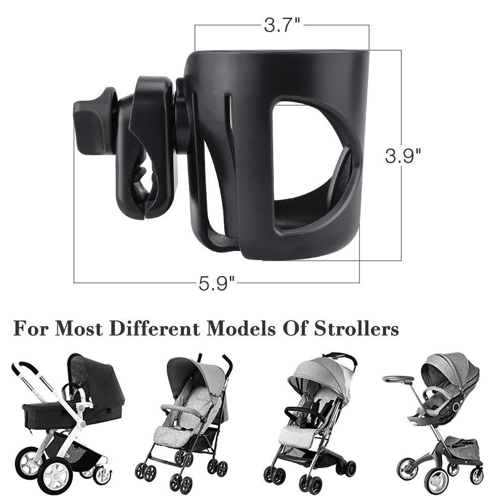 Large Cup Holder Bottle Drink Coffee for Mamas And Papas Stroller Pushchairs