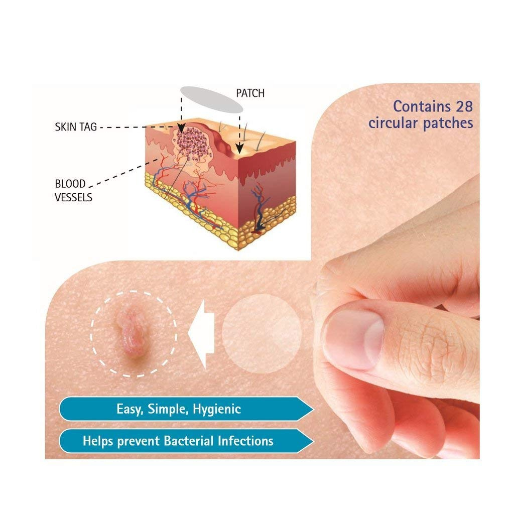 Bioclear 3 Pack Skin Tag Removal Dermal Patch As Seen In Press