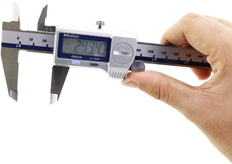 0005 0//01 mm No SPC 0-6 0005 0//01 mm No SPC 0-6 Mitutoyo 500-752-20 Digimatic Caliper IP67