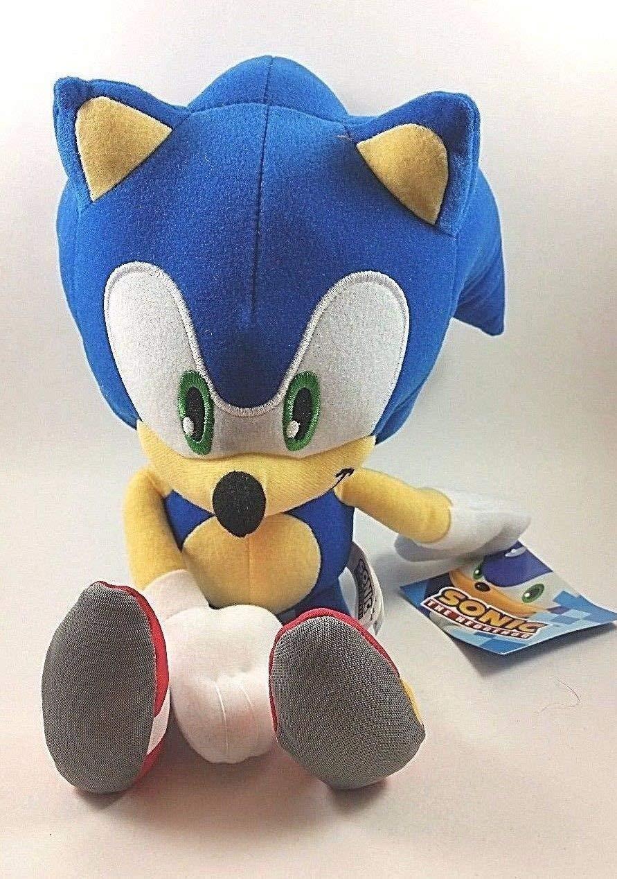 Official Blue Sonic The Hedgehog Plush Toys 25cm By Sega Shop Online For Toys In Australia